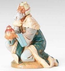 12 Inch Scale Fontanini Kneeling King Gaspar Figurine 72915
