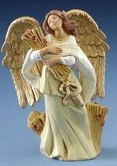 5 Inch Fontanini Tabitha Angel with wheat Stalks 72687