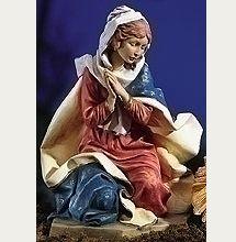 27 Inch Fontanini Kneeling Mary Figurine 53112