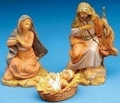 5 Inch Scale Fontanini Centennial Holy Family 51550