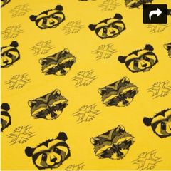 Mustard Raccoons - handmade leggings 0 - 6 years
