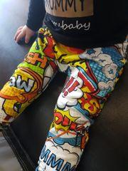 Comic Hero handmade leggings