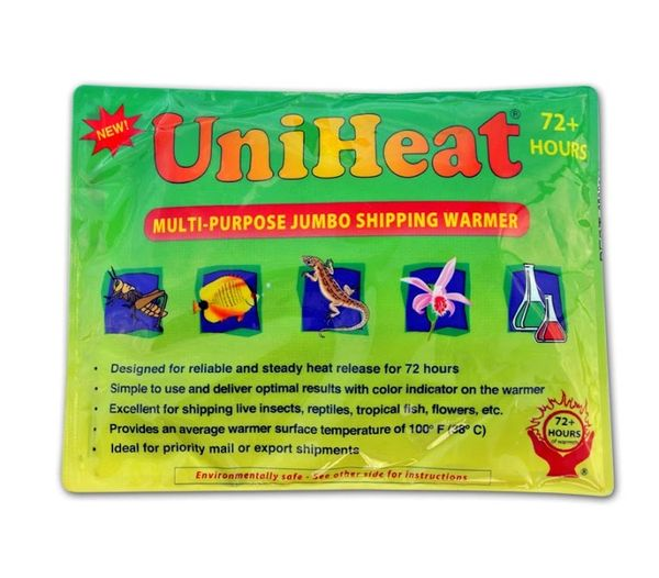 Heat pack to keep your orchid order warm during shipping