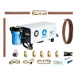 Aeromist 300 PSI 90' Nylon Misting System w/ Enclosed Pump