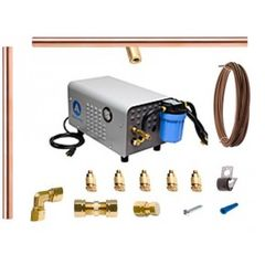 Aeromist 1000 PSI 84' Copper Misting System w/ Enclosed Pump