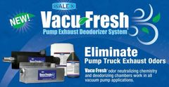 Vacu-Fresh Pump Exhaust Deodorizer System, Combo Package