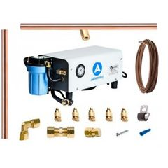Aeromist 300 PSI 60' Copper Misting System w/ Enclosed Pump