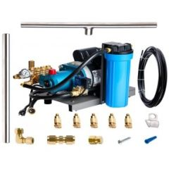 Aeromist 1000 PSI 90' Stainless Steel Misting System w/ Direct-Drive Pump