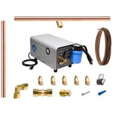 Aeromist 1000 PSI 60' Copper Misting System w/ Enclosed Pump