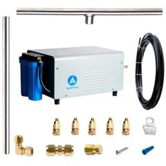 Aeromist 1000 PSI 80' Stainless Steel Misting System w/ Pulley Pump