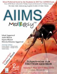 AIIMS Medeasy Volume I (Nov 2017 – May 2014) 2nd Edition 2018 by Vaibhav Bharat