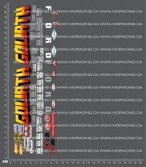 1/10TH MONSTER TRUCK - GOLIATH DECALS
