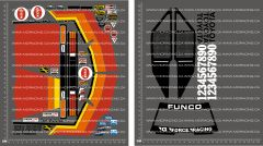 1/10TH KYOSHO - COX ULTRASTOCK DECALS