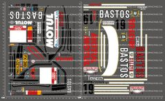 1/10TH BMW - BASTOS MOTUL DECALS