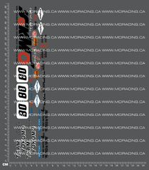1/10TH YOKOMO - 870-C - BOX ART DECALS