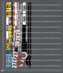 1/10TH TAM 58084 - FERRARI F189 DECALS