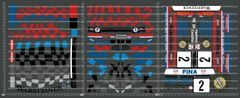1/10TH KYOSHO - BMW M3 DECALS