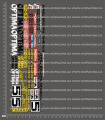 1/10TH KYOSHO - OPTIMA DECALS