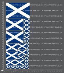 1/10TH FLAGS - SCOTLAND DECALS