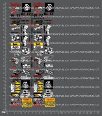1/10TH DRIFTING SPONSOR - SHEET 1 DECALS