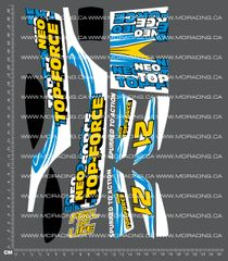 1/10TH TAM 57711 - NEO TOP FORCE DECALS