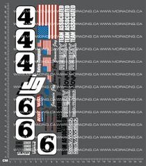 1/10TH ASSOCIATED - RC10 - JAMMIN JAY DECALS