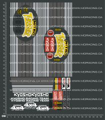 1/10TH KYOSHO - NITRO THRASHER DECALS
