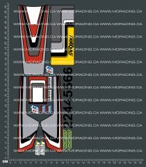 1/10TH TRAXXAS - THE CAT - VERSION 1 DECALS