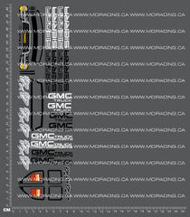 1/18TH HPI - MICRO RS4 - GMC SIERRA DECALS