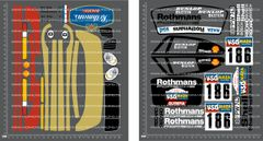 1/9TH TBG PORSCHE 959 SUPER DECALS