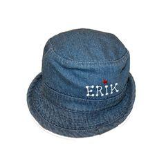 Newborn Denim Bucket Unisex Hat