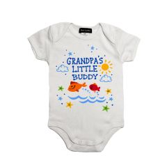 Grandpa's Little Buddy Onesie