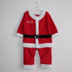Santa Suit and Matching Hat (Fleece)