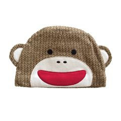 Beanie Sock Monkey Hat