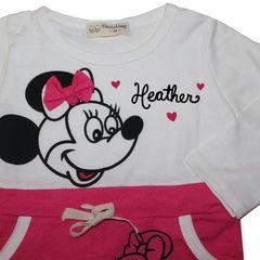 Minnie Mouse Cotton Dress Set