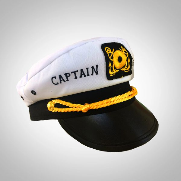 58a3d06f84 PERSONALIZED Captain Hat (Adult or Child)