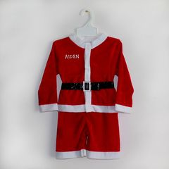 Santa Suit and Matching Hat (Velvet)