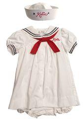 Sailor Dress & Sailor Hat Nautical