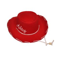 Child Felt Cowboy Hat with tie strap