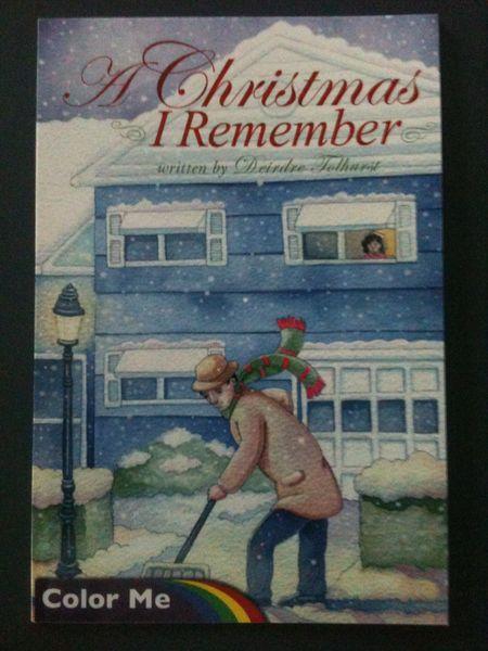 A Christmas I Remember - Color Me Book | Deirdre Tolhurst - Author ...