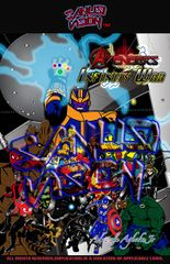 Avengers Infinity War 11in x 17in poster