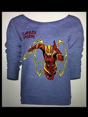 Flash Womens long sleeve tshirt