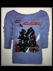 Assassins womens long sleeve t-shirt