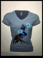 Black Panther/storm tshirt