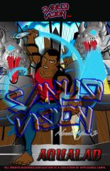 Aqualad 11in X 17in poster