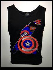 Captain America3 Tank Top