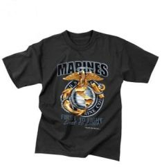 "T-Shirt Marines ""First to Fight"""