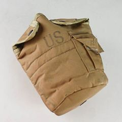 Canteen Cover, Brown, 1 Quart - USGI New