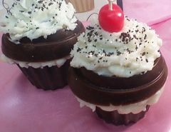 Candle Cupcake Oreo Cookie