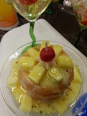 3 tier pineapple bowl